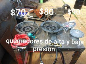 Quemadores de alta y baja presion for Sale in Aurora, IL