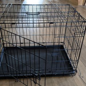 Dog Crate By iCrate (Medium, Double Door, Collapsible) for Sale in Sacramento, CA
