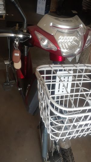 Electric new bike no license required 48v12amp for Sale in Phoenix, AZ