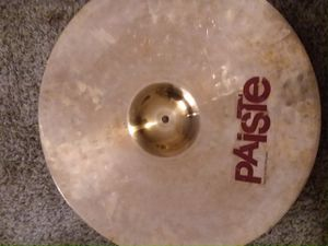 """Paiste power ride 22"""" cymbal 2002. Great shape for Sale in Aberdeen, WA"""