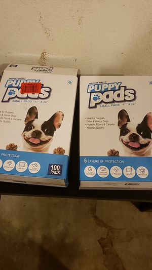 Puppy pads 2 boxes for Sale in Lodi, CA