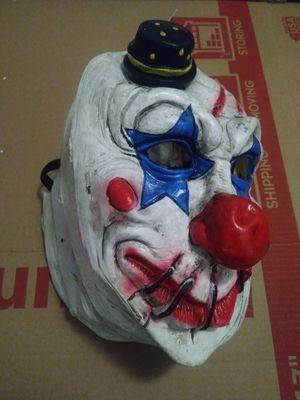 Halloween Blue Clown Mask for Sale in Long Beach, CA