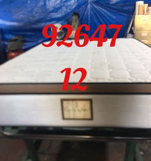 "12"" thick foam Encase 1 Sided Pillow Top mattress. Not rebuild. All new materials. Price includes tax and local delivery. Cash only. Twin Mattre for Sale in Midway City, CA"