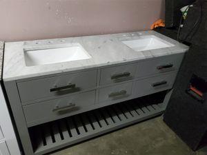 "Beautiful 60"" double sink vanity for Sale in Santa Maria, CA"