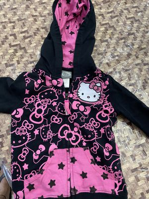 Hello kitty girls jacket with hoody for $5 for Sale in Chandler, AZ