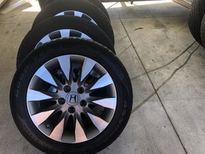 Honda Civic Si rims and tires. 16 inch for Sale in Thomasville, NC
