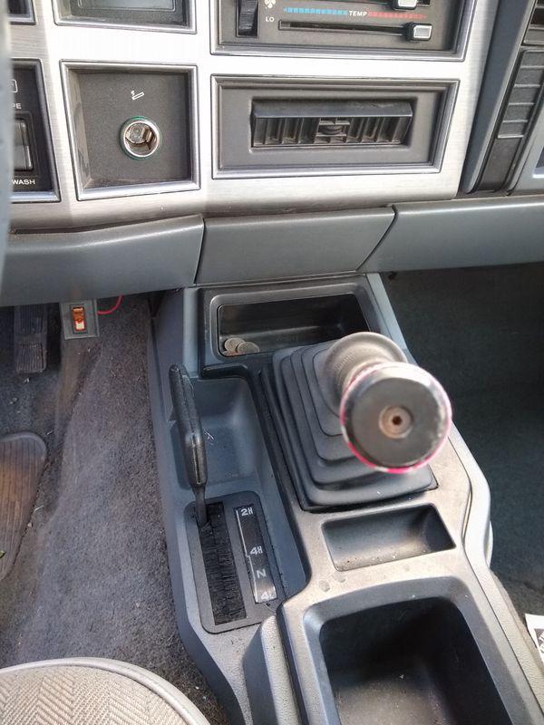 1993 Jeep Cherokee XJ 5 speed manual