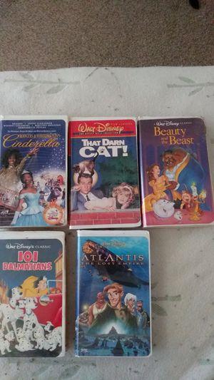 5 Classic Disney Films for Sale in Houston, TX