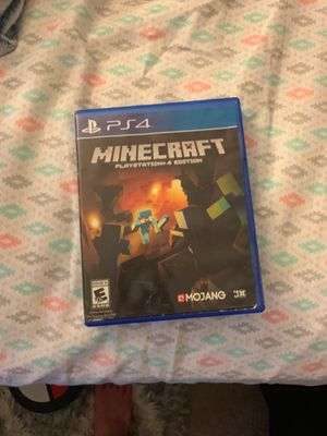 Minecraft for PS4! for Sale in Bloomingdale, IL