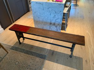 Antique Bench Made From Wooden Bleacher Seats for Sale in Brooklyn, NY
