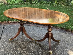 Baker Table sits 12 with Dual Pedestal Base - $1275 OBO for Sale in Benicia, CA