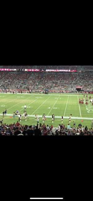 One Ticket for Cardinals-Raiders game for Sale in Tempe, AZ