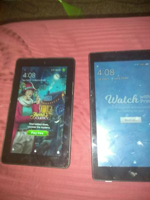 2 Kindle fire 5th & 6th generation for Sale in West Valley City, UT