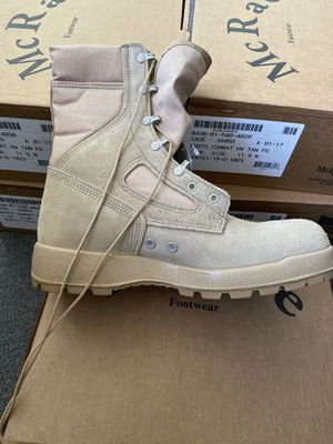 McRae Air Force combat boots authentic not Chinese version, size 11.5 brand new for Sale in Cherry Hill, NJ