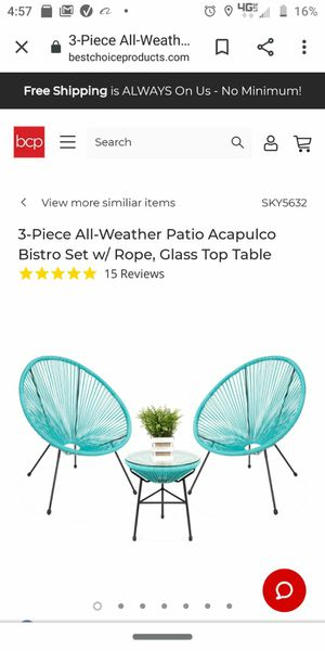 patio set for Sale in Dearborn Heights, MI