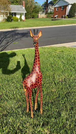 Giraffe Wooden Sculpture for Sale in Washington, DC