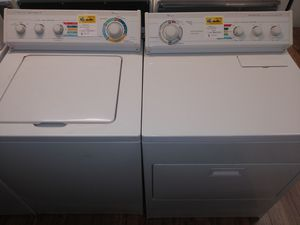 Whirlpool Super Capacity Plus Washer/ Super Capacity Plus Electric Dryer Set for Sale in St. Louis, MO