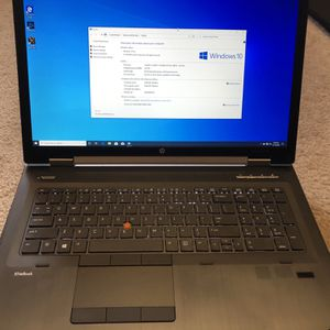 "17.3"" HP Elitebook 8770w laptop-mobile workstation for Sale in SeaTac, WA"