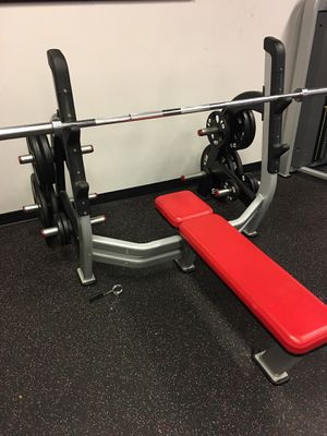 Olympic weightlifting bench for Sale in St. Louis, MO