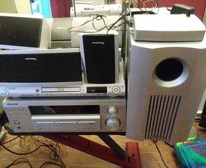 Pioneer 600 watt stereo receiver DVD wireless surround sound stereo system for Sale in Seattle, WA