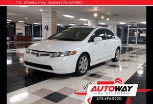 2007 Honda Civic Sdn for Sale in Gainesville, GA