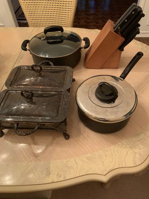 Bundle of Kitchen items for Sale in Richardson, TX