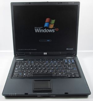 """HP Compaq nc6120 15"""" Notebook Laptop Windows XP SP3 Home Edition, Microsoft Office, Wifi, DVD (40GB 512MB) for Sale in Mesa, AZ"""