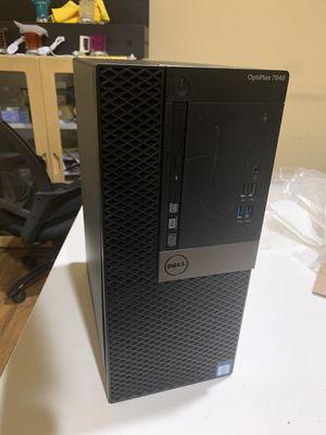 Dell Optiplex 7040 Intel i5-6500 8gb ddr4 RAM 500gb HHD AMD Radeon R5 340x 2gb for Sale in Alhambra, CA