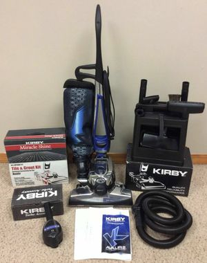 2019 NEW cond KIRBY AVALIR2 , Vacuum with complete attachments, SHAMPOO SYSTEM, zip brush, Amazing POWER suction, in the BOX, WORKS EXCELLENT, for Sale in Kent, WA