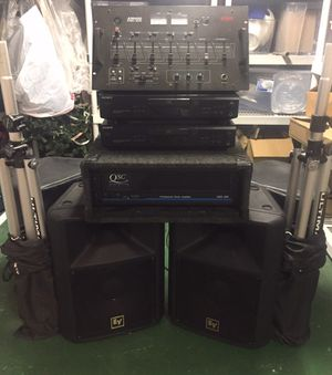 Stereo equipment (DJ) for Sale in Cleveland, OH