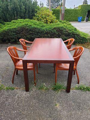 Beautiful Genuine Hardwood Table for Sale in Seattle, WA