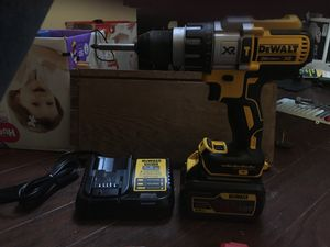 Brushless hammer drill flexvolt battery and charger for Sale in Portland, OR