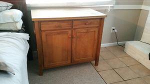 Oak Kitchen Island for Sale in NORTH PRINCE GEORGE, VA