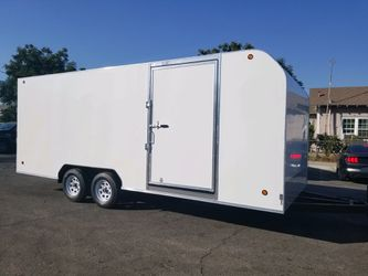 8-1/2 x 20 x 7 Enclosed Trailer for Sale in Garden Grove,  CA