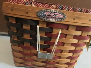 Longaberger 25th Anniversary Basket for Sale in Canton, MI