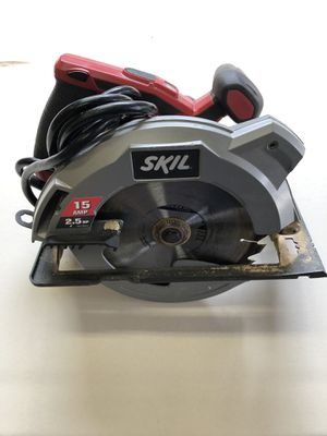 15amp 2.5HP Skil Saw Laser Guide for Sale in Tacoma, WA