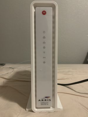 Arris SURFboard SBG6782AC DOCSIS 3.0 Cable Modem/ Wifi AC 1750 Router for Sale in Poway, CA
