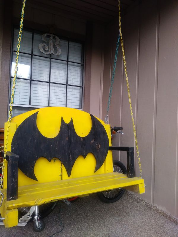 Batman Porch Swing