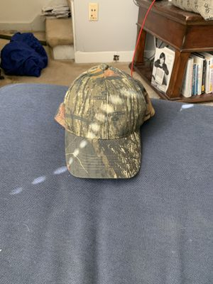 Camo baseball cap. Never used. Strong brim. for Sale in Watertown, MA