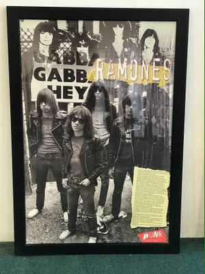 "Ramones Picture Frame 39""x 27"" for Sale in Hawthorne, CA"
