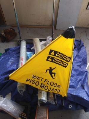 Wet floor pop out signs for Sale in Arvada, CO
