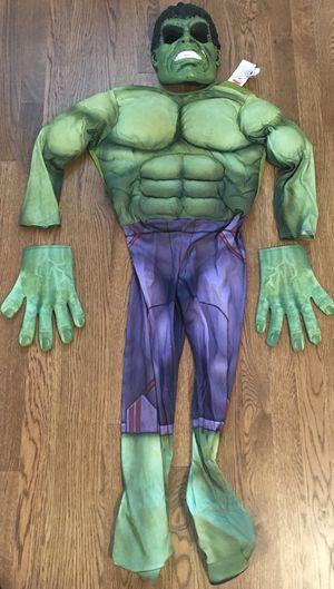 Reduced!!! Hulk Halloween costume- boys M 8-10 yrs for Sale in Murfreesboro, TN