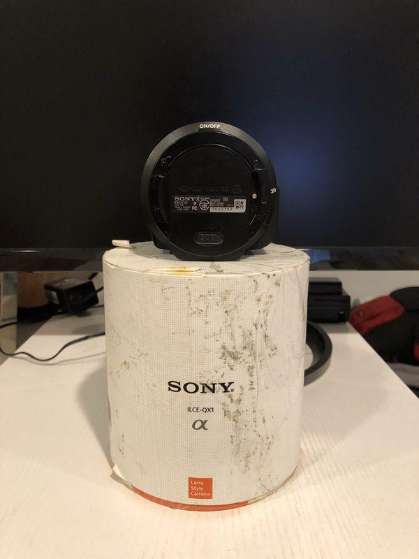 SONY QX1 camera