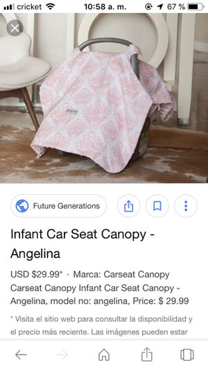 Car seat canopy for Sale in Cleveland, TN