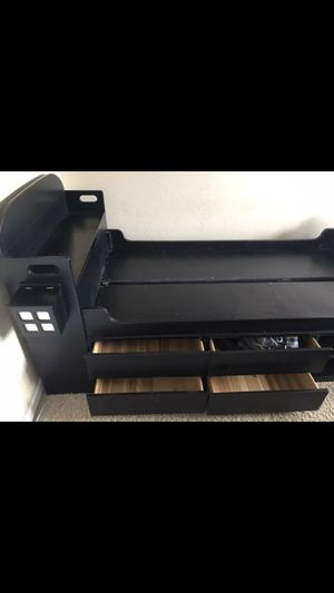 Twin bed pirate solid pine wood. With multible drawers for Sale in Peoria, AZ