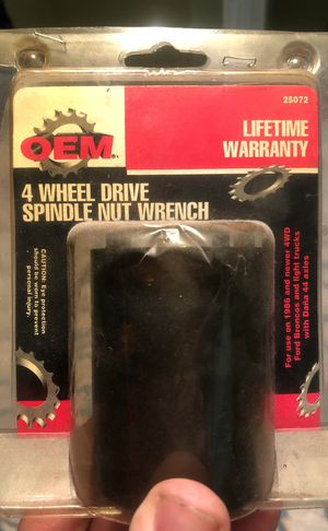 4 wheel drive spindle nut wrench for Sale in Shelbyville, TN