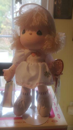 "12""Precious Moments Tennis Player Doll for Sale in Marietta, GA"