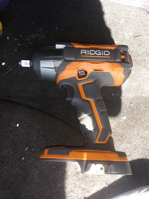 Rigid brushless drill, impact, 1/2 in impact for Sale in Wichita, KS
