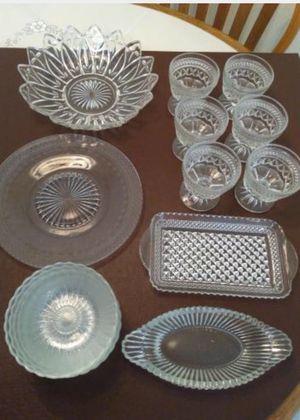 Miscellaneous glassware for Sale in Gibsonton, FL
