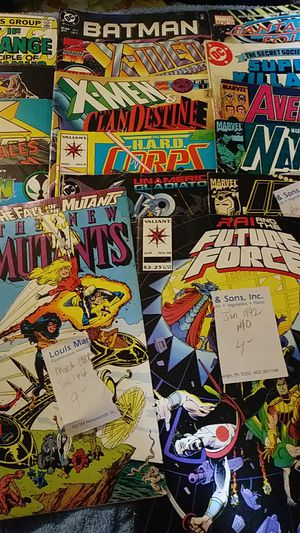 Comic Book Collection ask $175. Sell indiv too. Retail $400 for Sale in Pittsburgh, PA